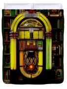 Wurlitzer 1946 Jukebox - Featured In Comfortable Art Group Duvet Cover