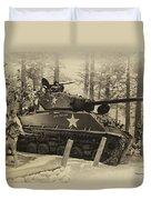 Ww II Battle Of The Bulge 02 Duvet Cover