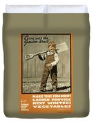 Wwi Farming C1915 Duvet Cover