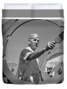 Wwii Home Front Worker Duvet Cover