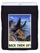 Wwii Royal Air Force, C1942 Duvet Cover