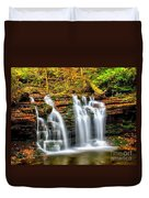 Wyandot Falls Ricketts Glen Duvet Cover