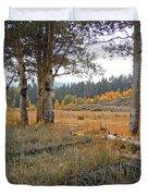 Wyoming Gold Duvet Cover