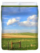 Wyoming Landscape Duvet Cover