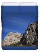 Wyoming Mountain Peaks Duvet Cover