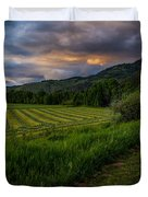 Wyoming Pastures Duvet Cover