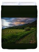 Wyoming Pastures Duvet Cover