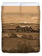 Wyoming West Duvet Cover