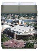 Xcel Energy Center In St. Paul Minnesota Duvet Cover