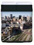 Xcel Energy Center St. Paul Minnesota Duvet Cover