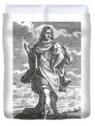 Xenophon Of Athens, Ancient Greek Duvet Cover