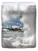 Xh558 At Altitude Duvet Cover