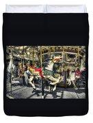 Xmas Carousel Duvet Cover