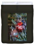 Xmas Ornament Noel Photo Art 01 Duvet Cover
