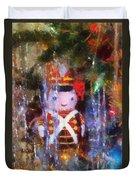 Xmas Soldier Ornament Photo Art 02 Duvet Cover