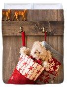 Xmas Stockings Duvet Cover