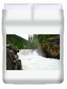Yaak Falls Duvet Cover
