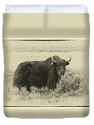Yaks...the Official Animal Of Tibet Duvet Cover