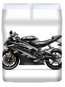 Yamaha R6 Supersport Motorcycle Duvet Cover