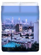 Yamashiro View Of La Duvet Cover