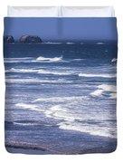 Yaquina Head Lighthouse  Duvet Cover