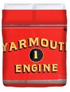 Yarmouth Engine 1 Duvet Cover