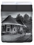 Yarmouth Grand Trunk Railroad Station II Duvet Cover