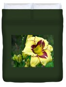 Yawning Lily Duvet Cover