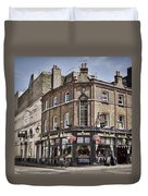 Ye Old Rose And Crown Duvet Cover