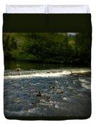 Ye Olde River Wye Duvet Cover