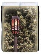 Ye Olde Street Lamp Duvet Cover