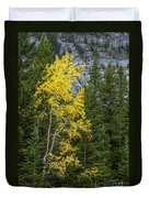 Yellow And Green Duvet Cover