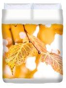 Yellow Autumn Duvet Cover