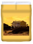 Yellow Beauty At Isle Of Palms Duvet Cover
