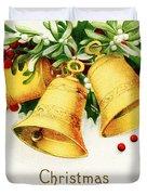 Yellow Bells Duvet Cover