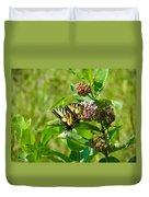 Yellow Butterflies Duvet Cover