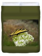 Yellow Butterfly 2 Duvet Cover