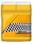 Yellow Cab - 4 Duvet Cover