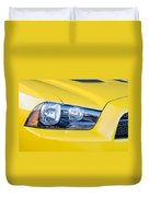 Yellow Charger 1520 Duvet Cover