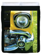 Yellow Chevy Duvet Cover