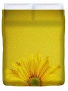 Yellow Chrysanthemum Duvet Cover