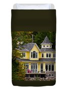 Yellow Cottage Duvet Cover