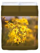 Yellow Countryside Duvet Cover