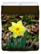 Yellow Daffodil Duvet Cover
