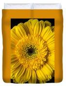 Yellow Daisy Close Up Duvet Cover