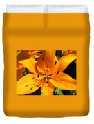 Yellow Delight Duvet Cover