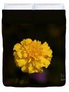 Yellow Fall Flower Duvet Cover