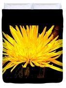 Yellow Flash Duvet Cover