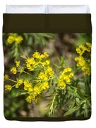 Yellow For Summer Duvet Cover