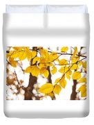 Yellow Happiness Duvet Cover